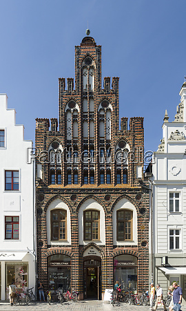 ratschow haus built in the middle