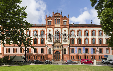 rostock university the main building city
