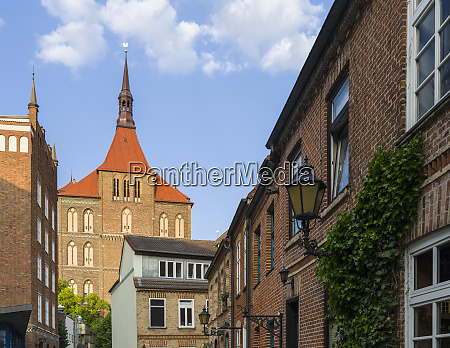 church marienkirche in brick gothic style
