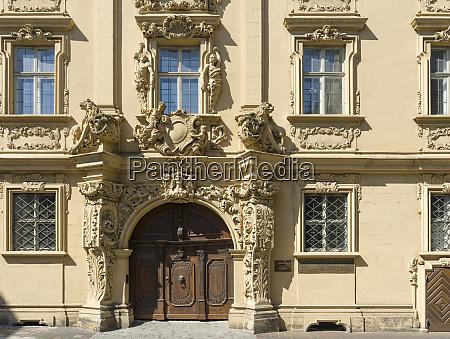 the bottingerhaus or prellshaus in the