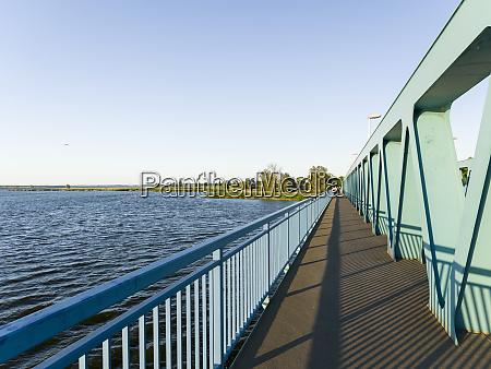 bridge over the peenestrom near zecherin
