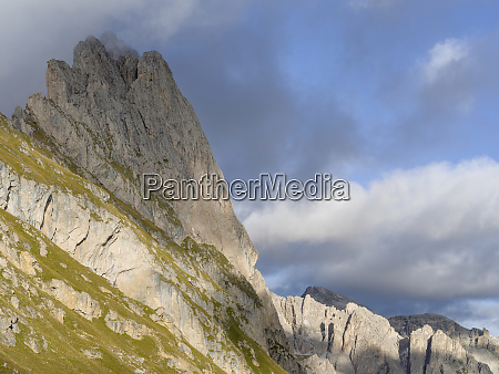 the dolomites in the valley of