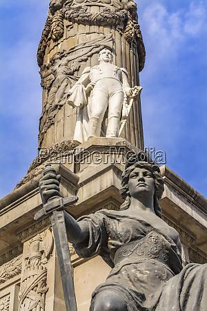 general ignacio allende and war statues