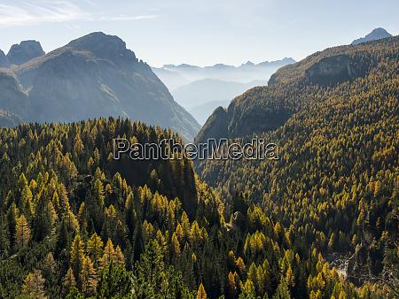 valle corpassa in the civetta mountain