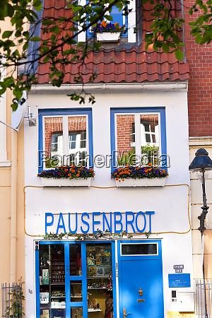 shop front selling models lubeck germany