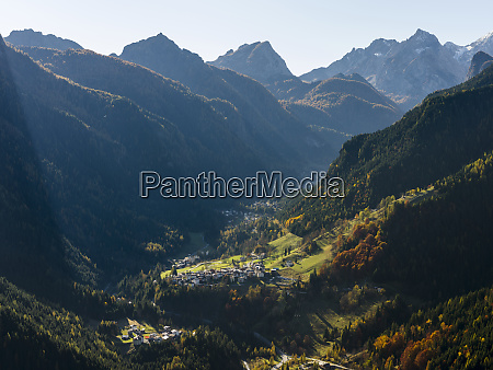 val pettorina in the dolomites of
