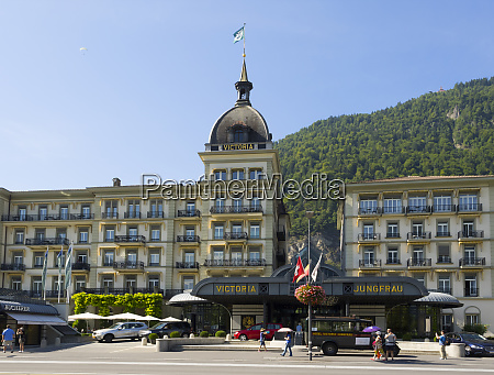switzerland bern canton interlaken grand hotel