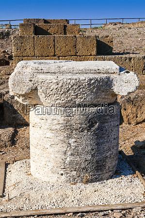 roman capital ruins of great temple