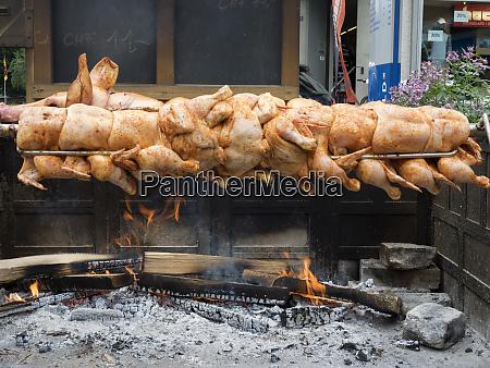 switzerland bern canton grindelwald roasting pork