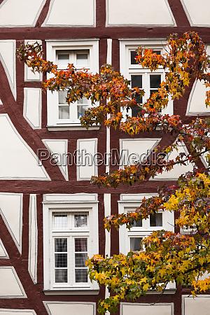 germany hesse wetzlar half timbered town