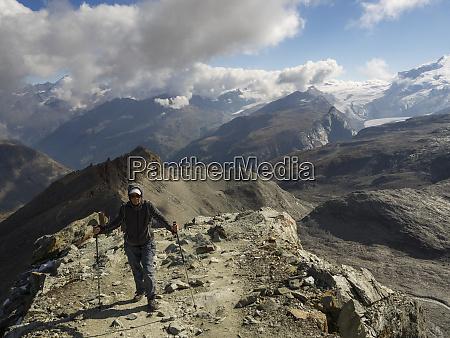 switzerland zermatt hike to hornli hut