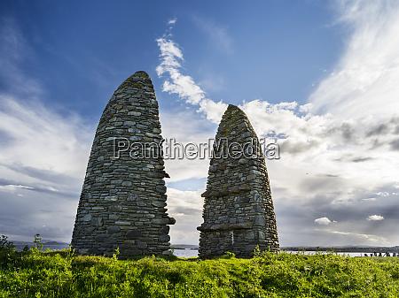 isle of lewis land raiders monument
