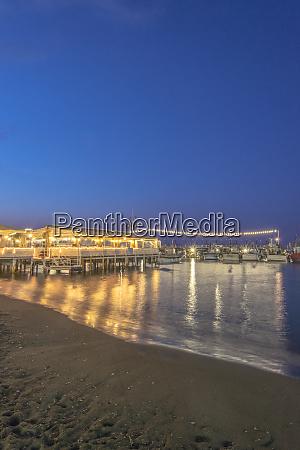 italy sorrento twilight marina grande large
