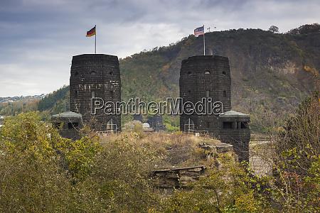 germany rhineland pfalz remagen ruins of
