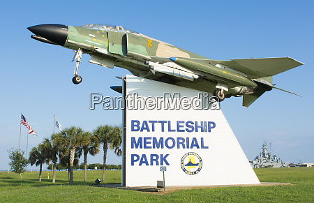 mobile alabama battleship memorial park fighter