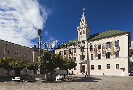 germany bavaria bad reichenhall town hall