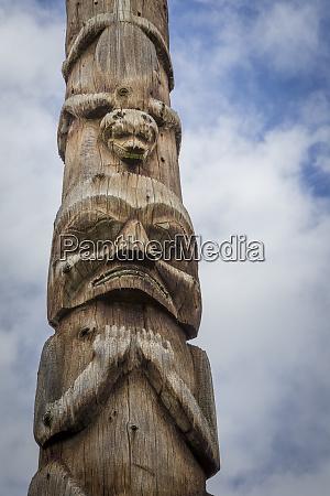 canada british columbia hazelton historic gitxsan