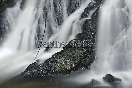 canada british columbia waterfall along the