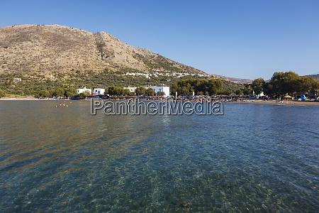 lithi beach chios island greece
