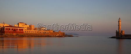breece crete chania old harbor and