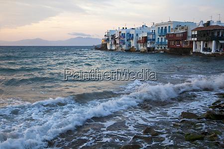 greece mykonos little venice