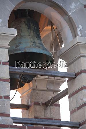 greece mykonos bell tower