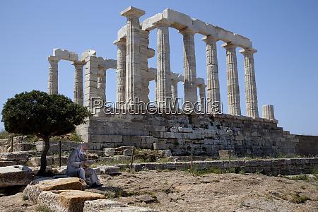 greece attica athens cape sounio temple