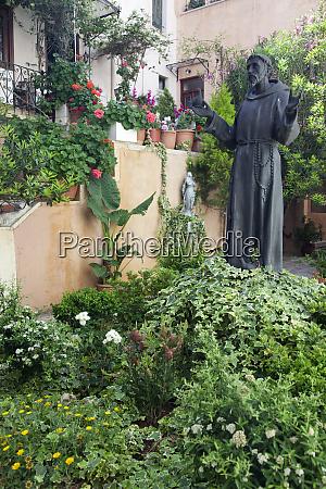 greece crete chania courtyard