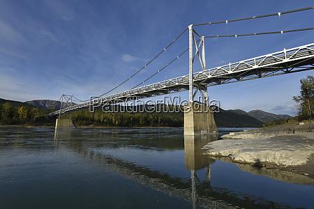 liard river bridge british columbia canada