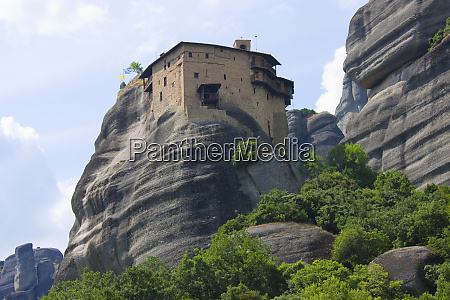 monastery of roussanou meteora greece