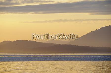 canada british columbia sidney island layered