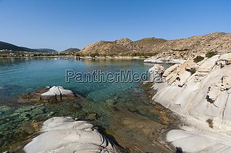paros island southern aegean sea greece