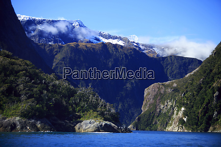 milford sound on the south island