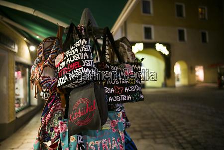 austria tyrol kitzbuhel souvenir bags
