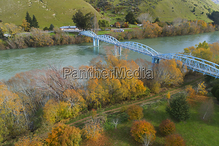 millers flat bridge clutha river and
