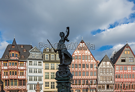lady justice in the old town