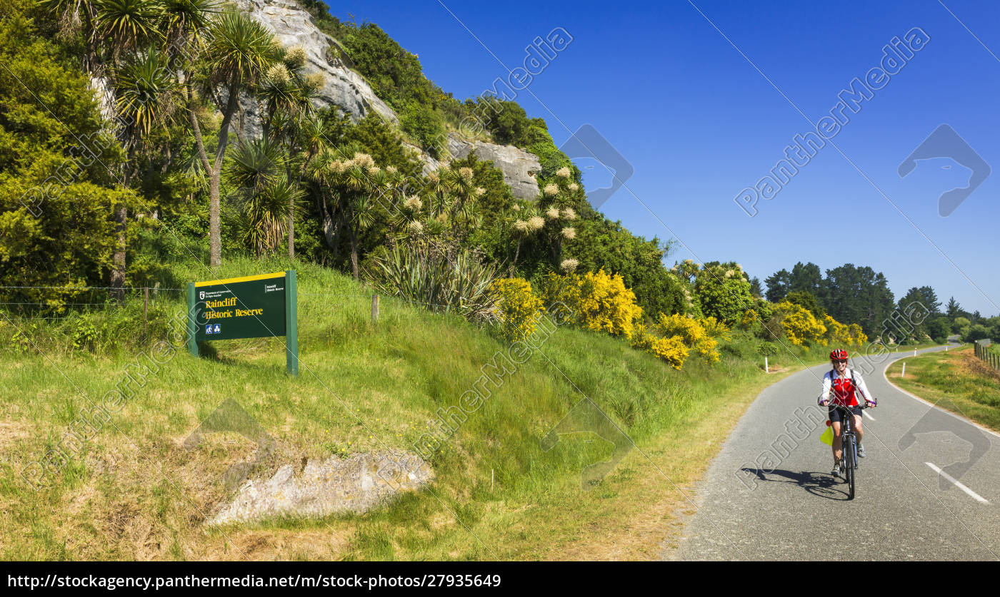 cyclist, at, the, raincliff, historic, reserve, - 27935649