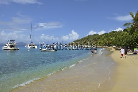 british virgin islands cooper island sandy