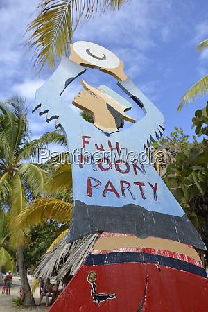 british virgin islands beef island painted