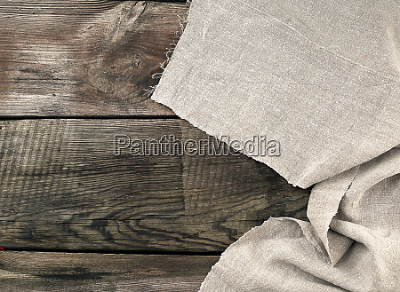gray kitchen textile towel folded on