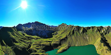 the schrecksee is a mountain lake