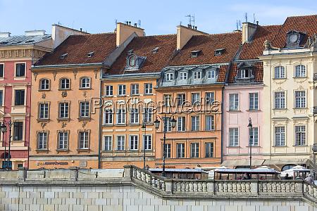 krakowskie przedmiescie street fragment of