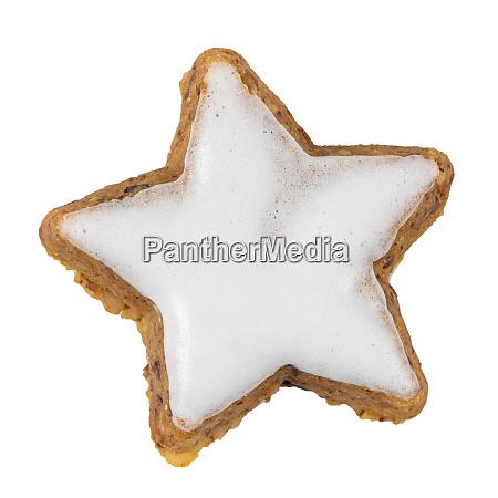 cinnamon star biscuit