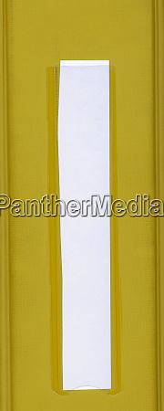 yellow folder white label
