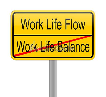 yellow work life flow work
