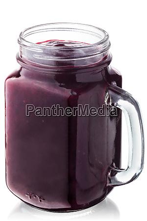 blackcurrant smoothie juice jar paths