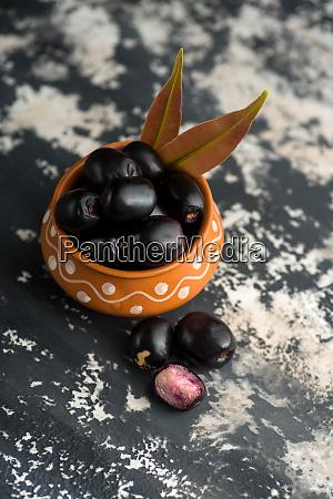 jambolan plum or jambul or jamun