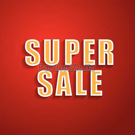 super sale background for your promotional