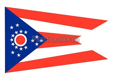 the ohio state flag