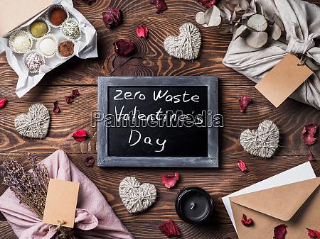 zero waste valentines day concept copy